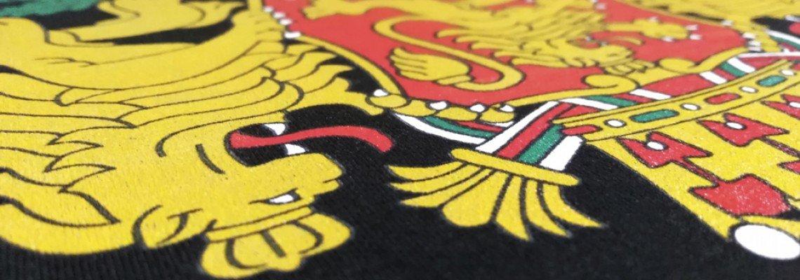 Директен печат на тениски по индивидуален дизайн