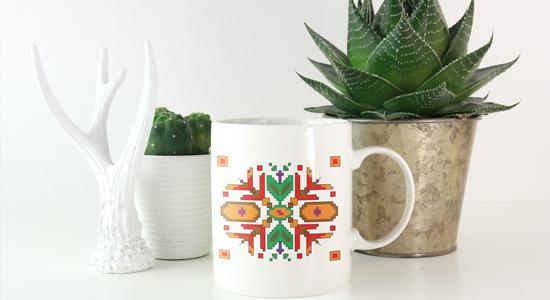Керамични чаши с шевици