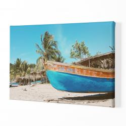 Палми и лодка
