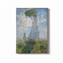 Жена с чадър - Клод Моне