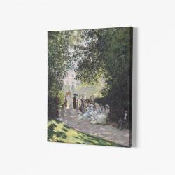 В парка Монсо - Клод Моне