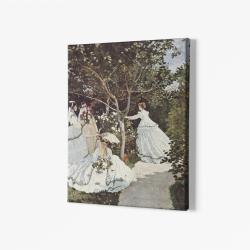 Жени в градината - Клод Моне
