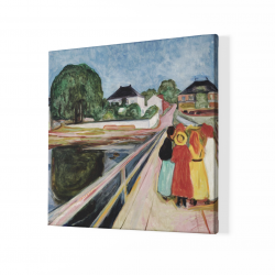 Девойки на моста - Едвард Мунк