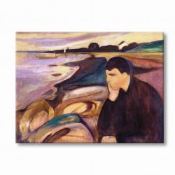 Меланхолия (1896 г.) - Едвард Мунк