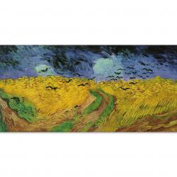 Житна нива с гарвани - Винсент ван Гог