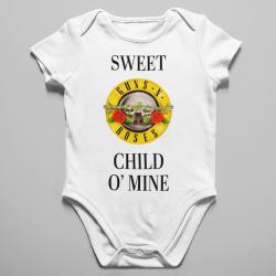 Бебешко боди с щампа - Sweet Child O Mine
