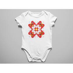 Бебешко боди с шевица 06