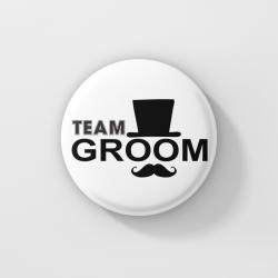 Значки за ергенско парти - Team Groom