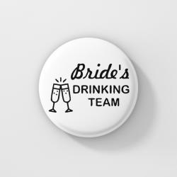 Значки за моминско парти - Bride`s Drinking Team 2