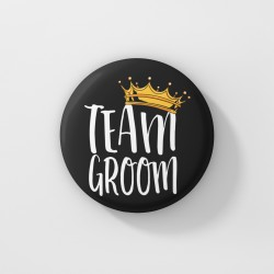 Значка за ергенско парти - Team Groom Crown