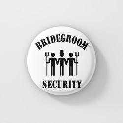 Значки за ергенско парти - Bridegroom Security