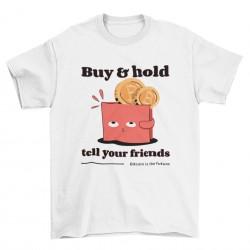 Мъжка тениска - Buy and hold