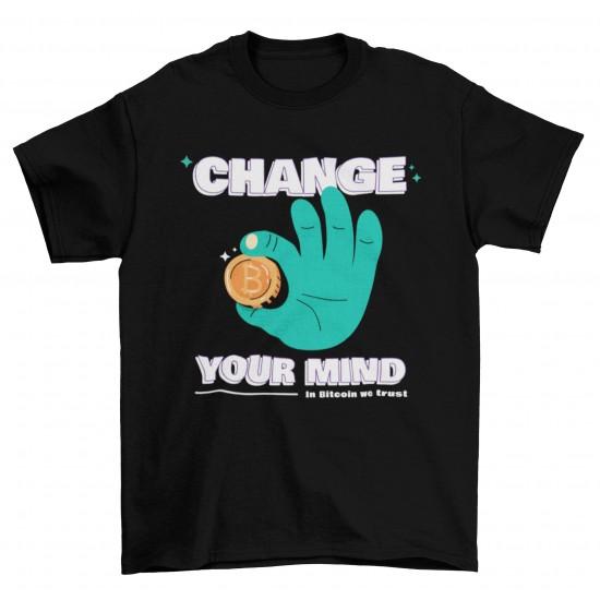 Мъжка тениска - Change