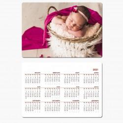 Луксозни джобни календари със снимка - 5броя