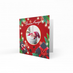 Коледна картичка с ваша снимка №4