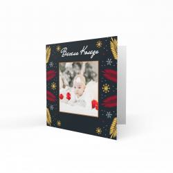 Коледна картичка с ваша снимка №6