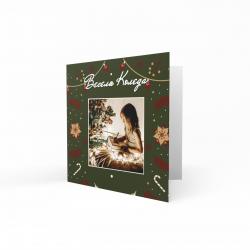 Коледна картичка с ваша снимка №8