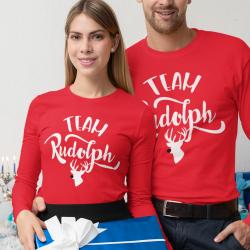 Комплект коледни блузи Team Rudolph