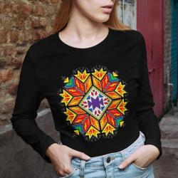Дамска блуза с етно мотиви 02