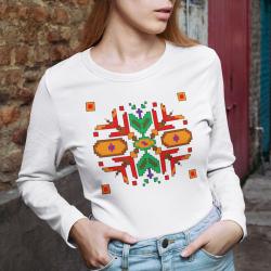 Дамска блуза с етно мотиви 03