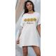 Дамска тениска-рокля с шевица 14