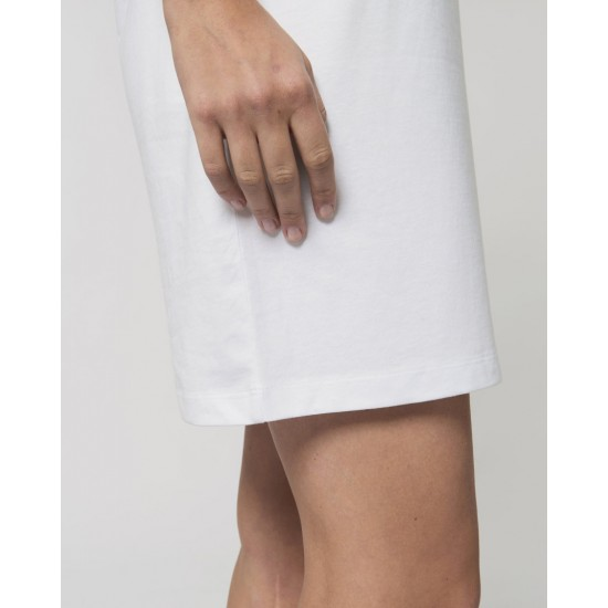 Дамска тениска-рокля с шевица 07