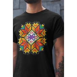 Мъжка тениска с етно мотиви 02