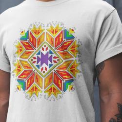 Мъжка тениска с етно мотиви 01