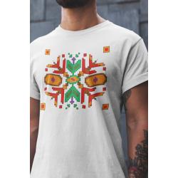 Мъжка тениска с етно мотиви 03