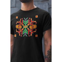 Мъжка тениска с етно мотиви 04