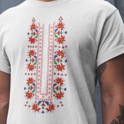 Мъжка тениска с етно мотиви 05