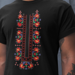 Мъжка тениска с етно мотиви 06