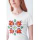 Дамска тениска с етно мотиви 07
