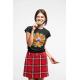 Дамска тениска с етно мотиви 02
