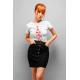 Дамска тениска с етно мотиви 09