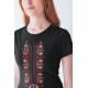 Дамска тениска с етно мотиви 06