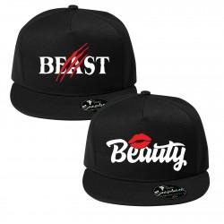 Шапки за влюбени Beast and Beauty