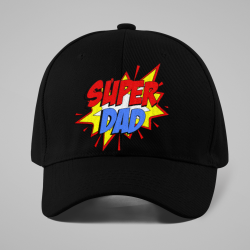 Шапка с козирка Super Dad
