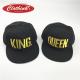 Комплект шапки King & Queen Gold