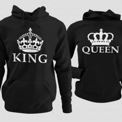 Комплект суичъри King и Queen