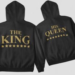 Комплект суичъри The King His Queen