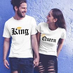 Tениски за влюбени -  King Queen Orange
