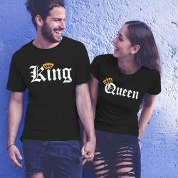 Tениски за влюбени -  King Queen Orange pc.2
