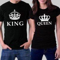 Тениски за него и нея - King & Queen