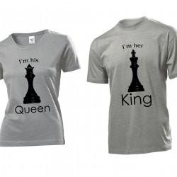 Tениски за влюбени -  King & Queen Chess