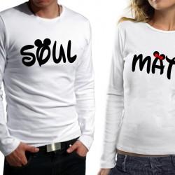 Комплект блузи за влюбени - SoulMate