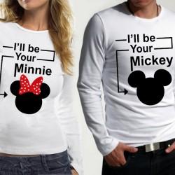 Комплект блузи за влюбени  I'll be your ...