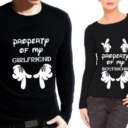 Комплект блузи за него и нея Property