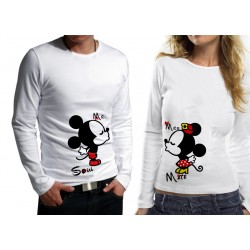 Комплект блузи за влюбени - Mickey and Minnie Mouse