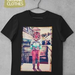 Унисекс тениска с дизайнерски принт - Tiger head
